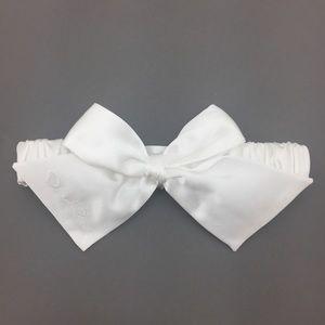 4/$25 Oscar de la Renta White Wedding Garter NWT